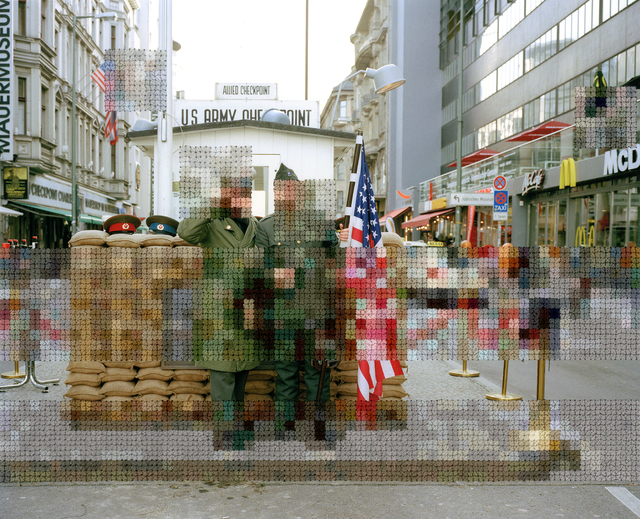 , 'Checkpoint Charlie,' 2012-2017, Pictura Gallery