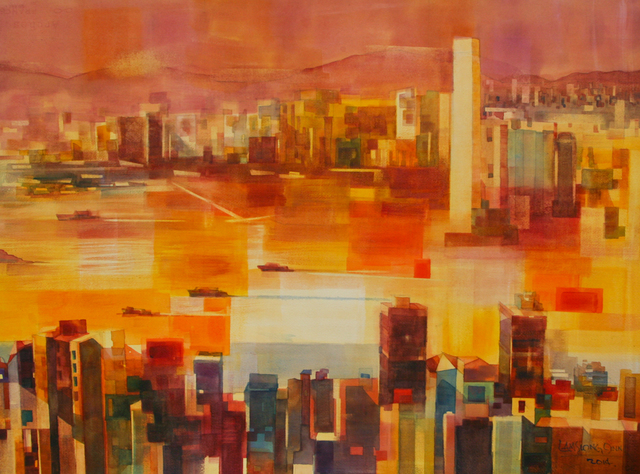 , '#18 Sunset on Victoria Harbour,' 2014, Affinity ART