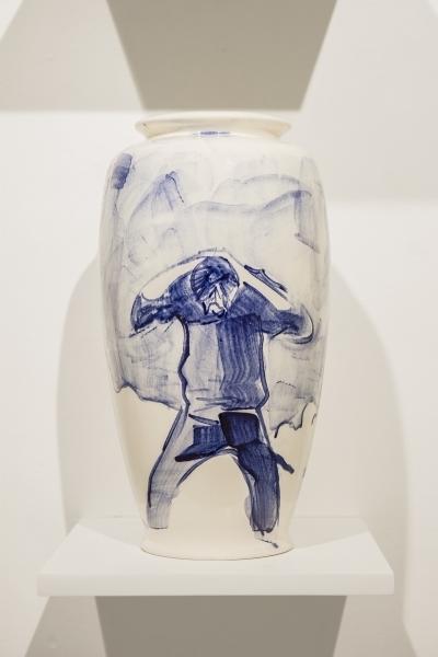 , 'El Color del Sur, Jarrón No. 7 (Persona) ,' 2017, Machete