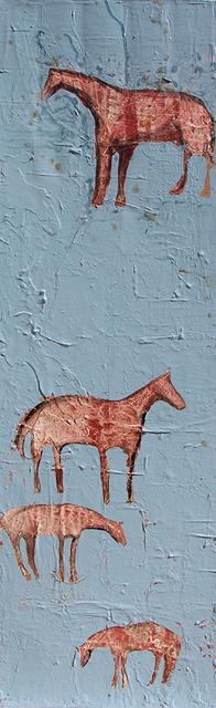 Casey McGlynn, '4 White Horses', 2019, Bau-Xi Gallery