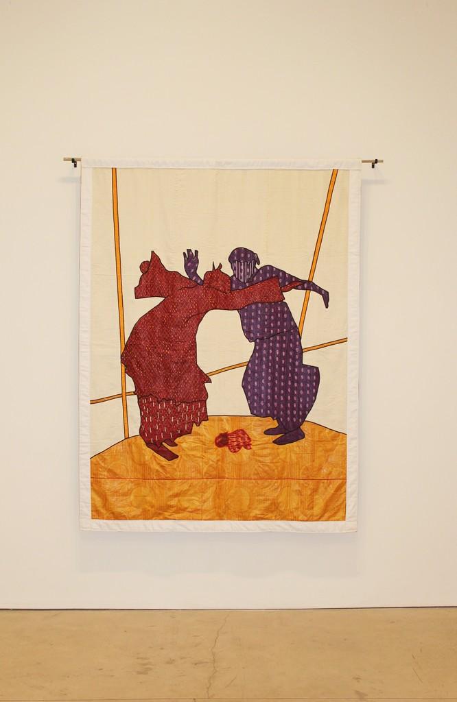 Abdoulaye Konaté, 'Danse Au Conservatoire N°11,' 2011, Primo Marella Gallery