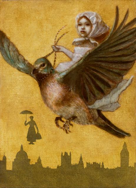 , 'Bluebird Girl,' 2018, Phylogeny Contemporary
