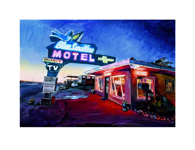 , 'Blue Swallow Motel, Route.66 (2019),' 2019, Castle Fine Art