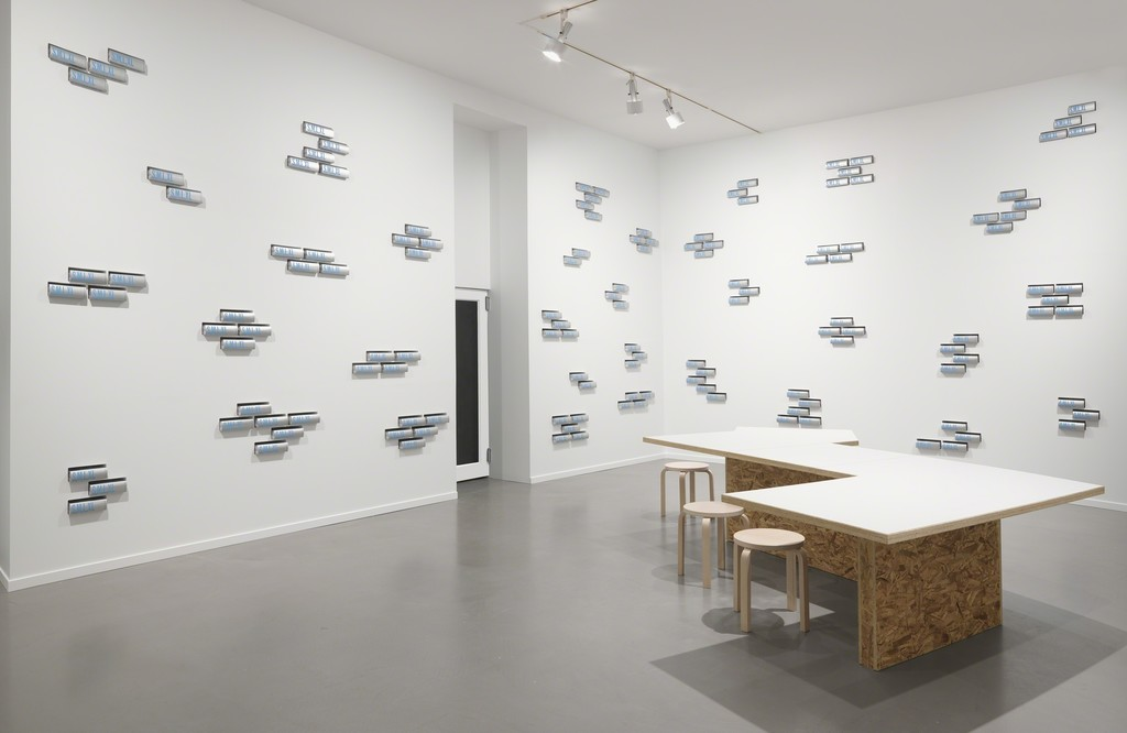 Installation view of Rem Koolhaas and Bruce Mau's S,M,L,XL