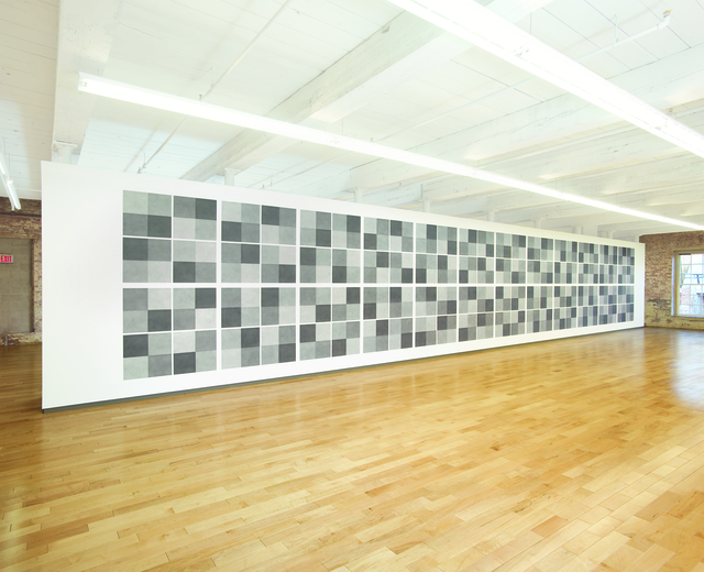 , 'Wall Drawing #414,' 1984, MASS MoCA