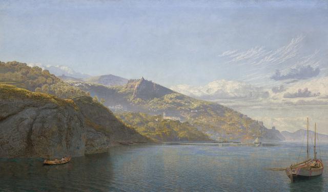 John Brett, 'Massa, Bay of Naples', 1864, Indianapolis Museum of Art at Newfields