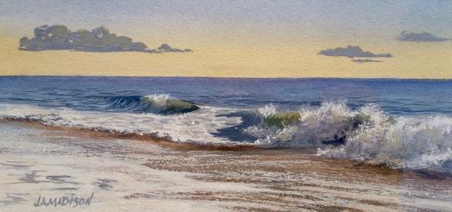 , 'Breaking Surf,' , Peninsula Gallery