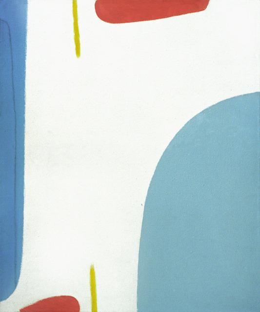 , 'Kraftfeld weiß,' 1962, Bode Gallery