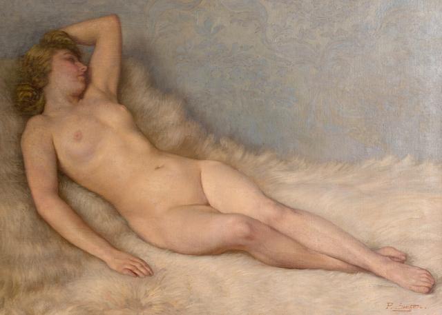 Paul Sieffert, 'Le Repos Du Modele', ca. 1940, Queen Fine Arts