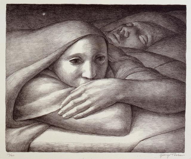 George Tooker, 'Night ', 1998, DC Moore Gallery
