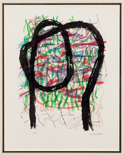 Jean-Paul Riopelle, 'L'Indien', 1972, Print, Lithograph in colors on Arches paper, Caviar20