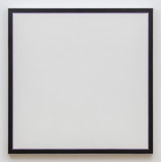 Jo Baer, 'Untitled (White Square Lavender)', 1964-1974, Kayne Griffin Corcoran