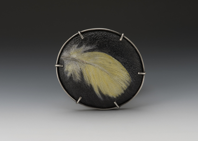 , 'Feather Yellow 2,' 2017, Facèré Jewelry Art Gallery