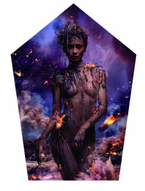 Chen Man, 'Five Elements: Fire', 2011, L.A. Louver