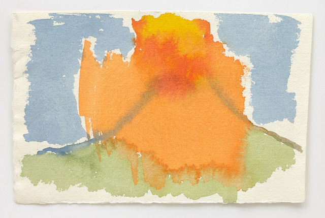 , 'Volcano Watercolour I,' , Wilkinson