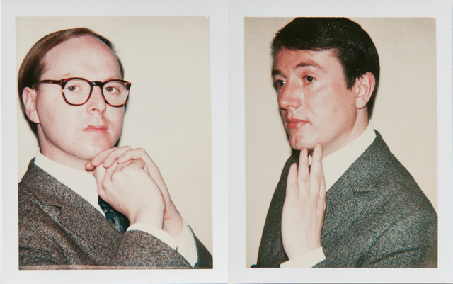 Andy Warhol, 'Andy Warhol Polaroids, Gilbert and George Diptych, 1975', 1975, Hedges Projects