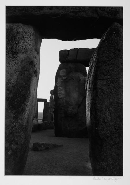 Paul Caponigro, 'Stonehenge, Inner Trilithon', 1970, Vision Neil Folberg Gallery