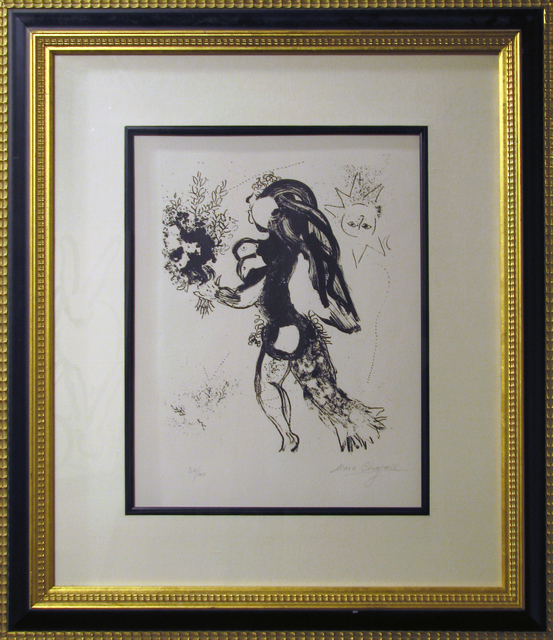 Marc Chagall, 'The Offering', 1960, Print, Lithograph, DTR Modern Galleries
