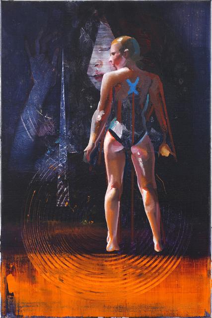 , 'Figur feucht,' 2019, Josef Filipp Galerie