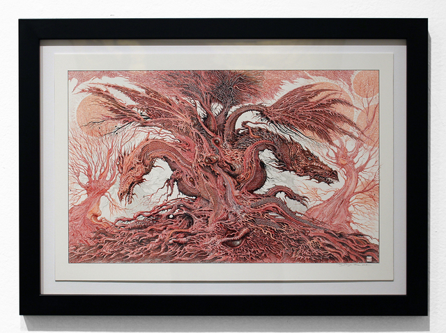 , 'The Red Dragon Tree,' 2014, Jonathan LeVine Projects