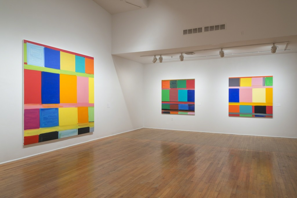 Stanley Whitney: Dance the Orange (exhibition view). The Studio Museum in Harlem, July 25–October 25, 2015. Photo: Adam Reich