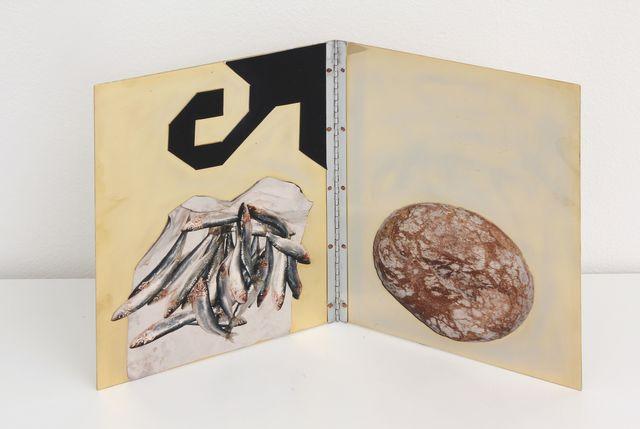 Fausta Squatriti, 'Pani e Pesci', 1996, Galleria Bianconi
