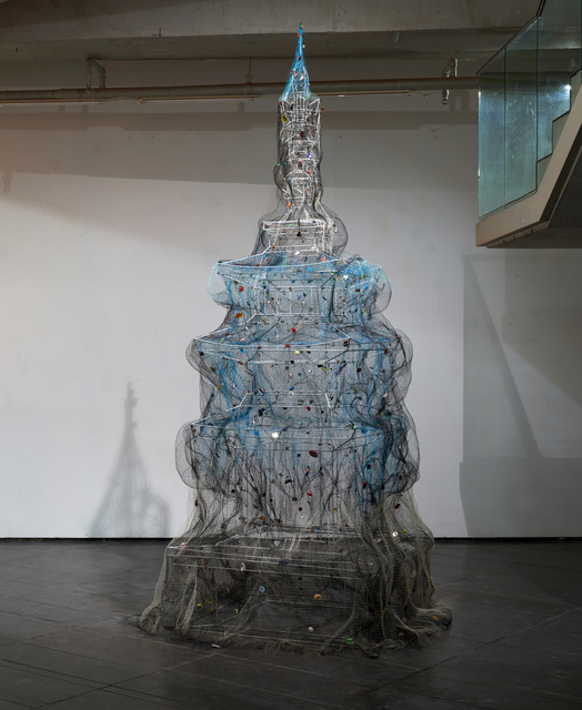 , 'The Net- Pagoda,' 2016, Loop Alternative Space