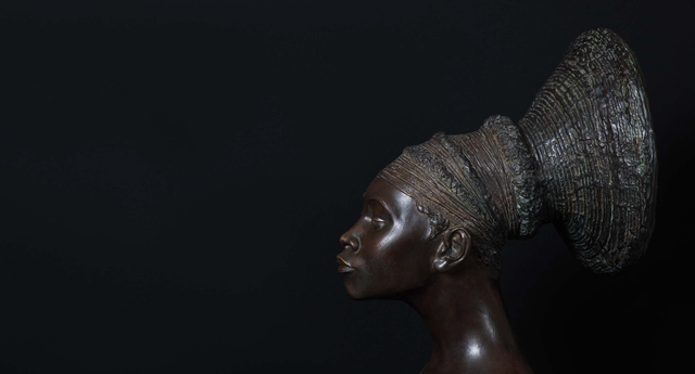 , 'Untitled (Malvina Hoffman Collection), Mangbetu Woman,' 2008-2012, Luis De Jesus Los Angeles