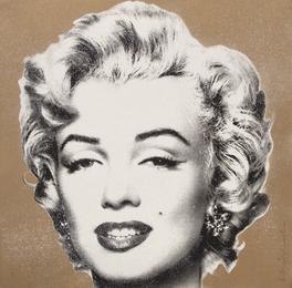 Marilyn Diamond Girl (Gold)