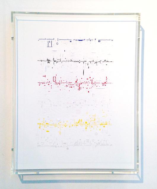 , 'Drawriter ,' 2016, Galería del Paseo