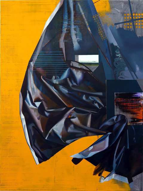 Rayk Goetze, 'Das erste Gewand', 2020, Painting, Oil and acrylic on canvas, Josef Filipp Galerie