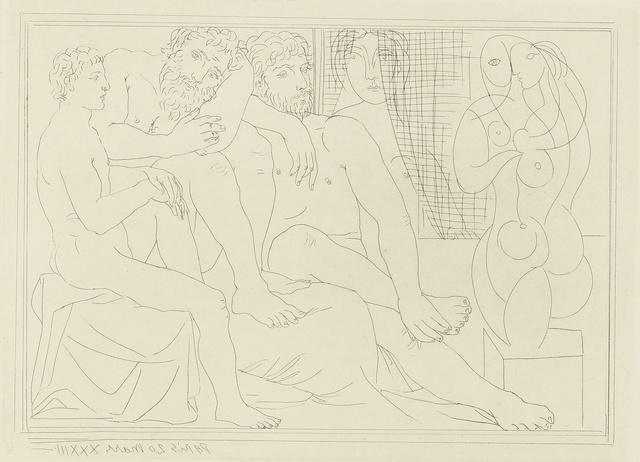Pablo Picasso, 'Sculpteurs, modèles et sculpture (B. 149; Ba. 301)', Print, Etching, Sotheby's