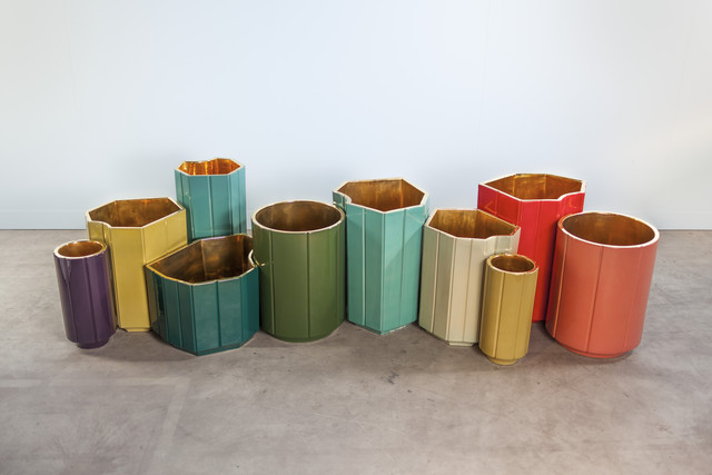 India Mahdavi, 'vases landscapes gold series', Carwan Gallery