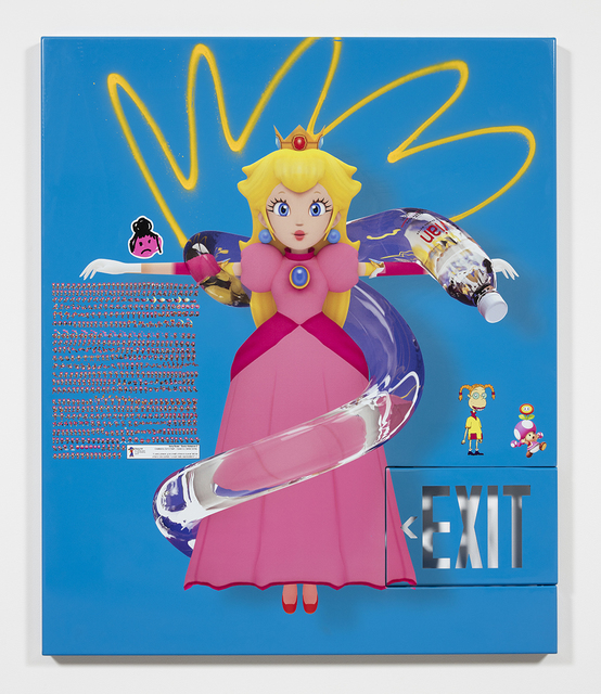, 'princess peach (w eliza and toadette and amy rose),' 2017, Steve Turner