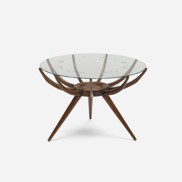 In the manner of Carlo de Carli, 'occasional table', c. 1950, Wright