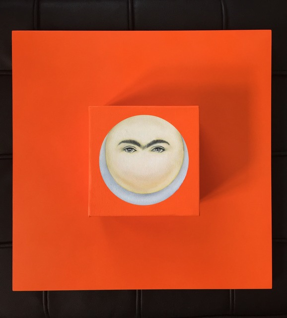, 'Moon-Frida in Orange,' 2015, Studio 905 on Juniper