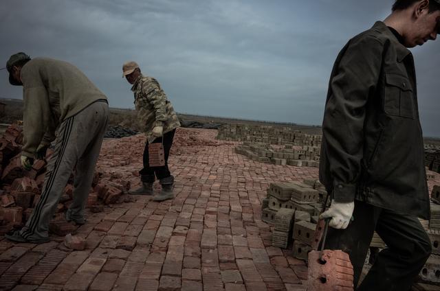 , 'Laying Bricks,' 2014, Galleri Duerr