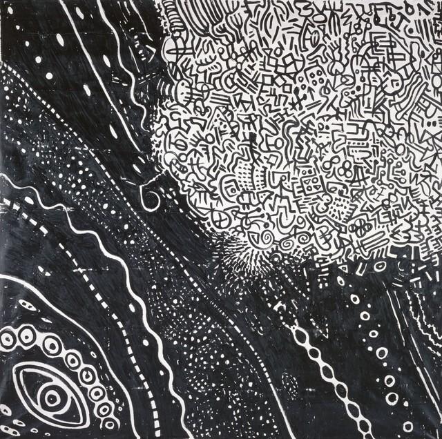 , 'Kamelschnauze im Universum,' 1975, Galerie Michael Haas