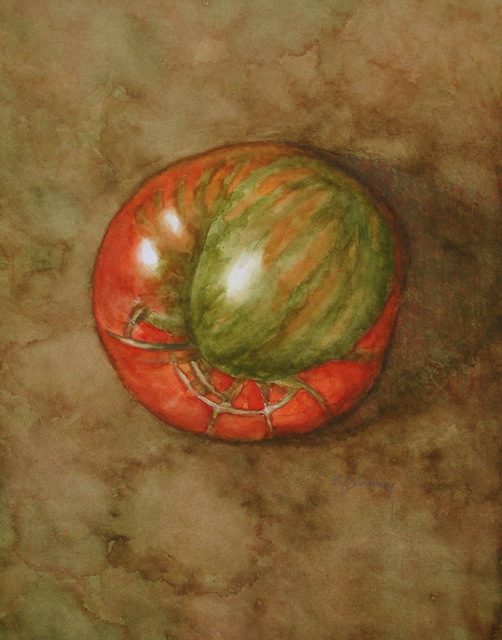 , 'Heirloom Tomato in Red & Green,' 2010, InLiquid
