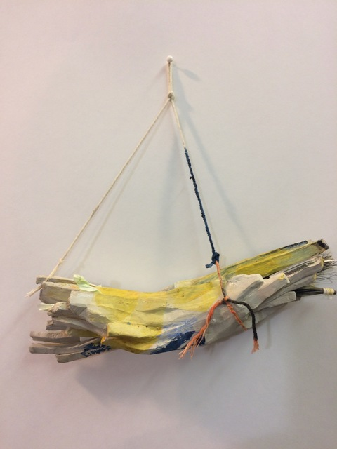 Monika Zarzeczna, 'Them, Thick Blue', 2018, Lesley Heller Gallery