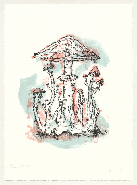 , 'Mushrooms IV from the «Pagan» series,' 2018, Shaltai Editions