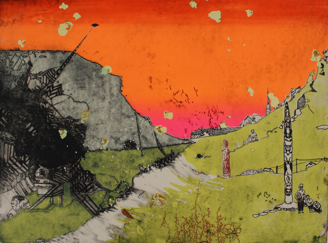 , 'The Old Man of the Mountain,' 2012, Cade Tompkins Projects