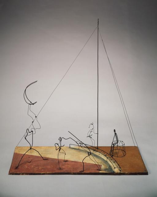 Alexander Calder, 'Circus Scene', 1929, Sculpture, Wire, wood, and paint, Calder Foundation