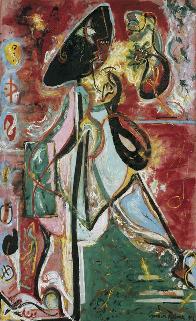 , 'The Moon Woman,' 1942, Peggy Guggenheim Collection