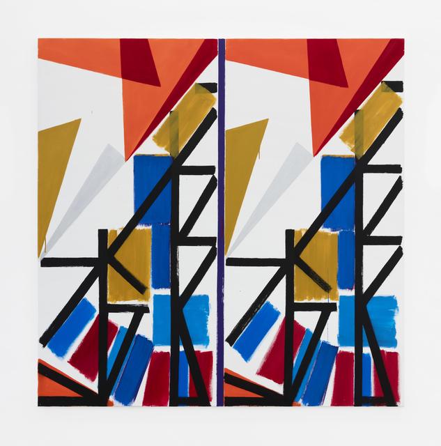 Bernard Piffaretti, 'Untitled', 2018, galerie frank elbaz