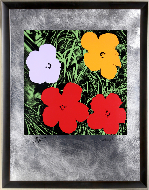 Andy Warhol, 'Flowers: Master American Contemporaries II', RoGallery