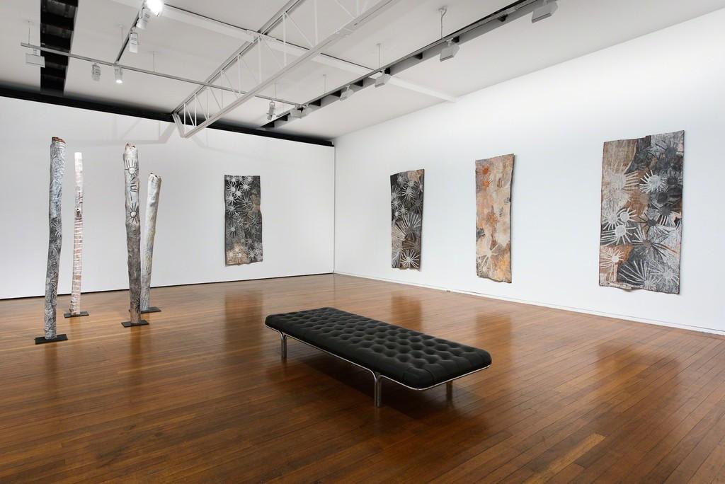Nyapanyapa Yunupingu, Ganyu, Roslyn Oxley9 Gallery, 2019 (installation view). photo: Luis Power