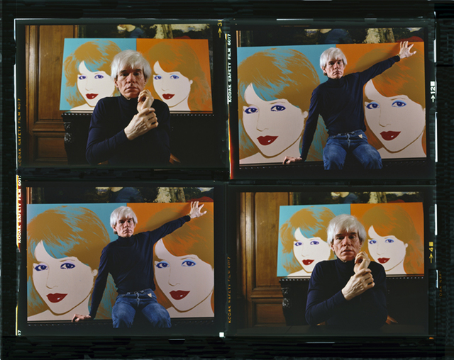 , 'Andy Warhol Times 4 Color,' 1983, Cavalier Galleries