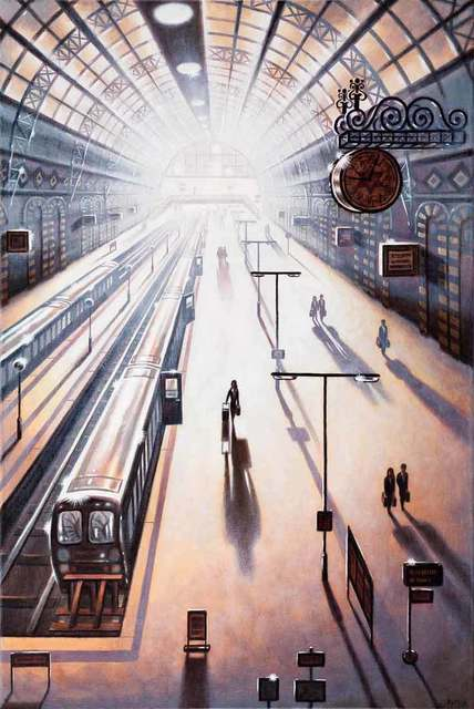 , 'Arrival 2 - King's Cross Station,' 2018, Catto Gallery