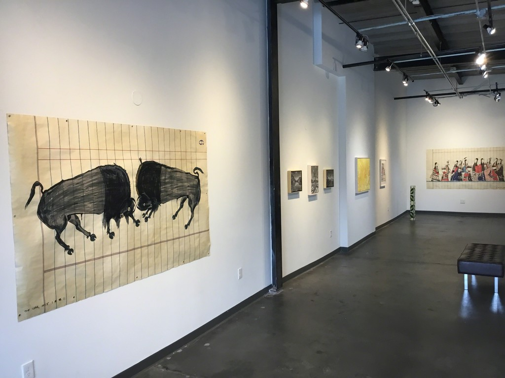 Crashing Buffalo by Ishi Glinsky